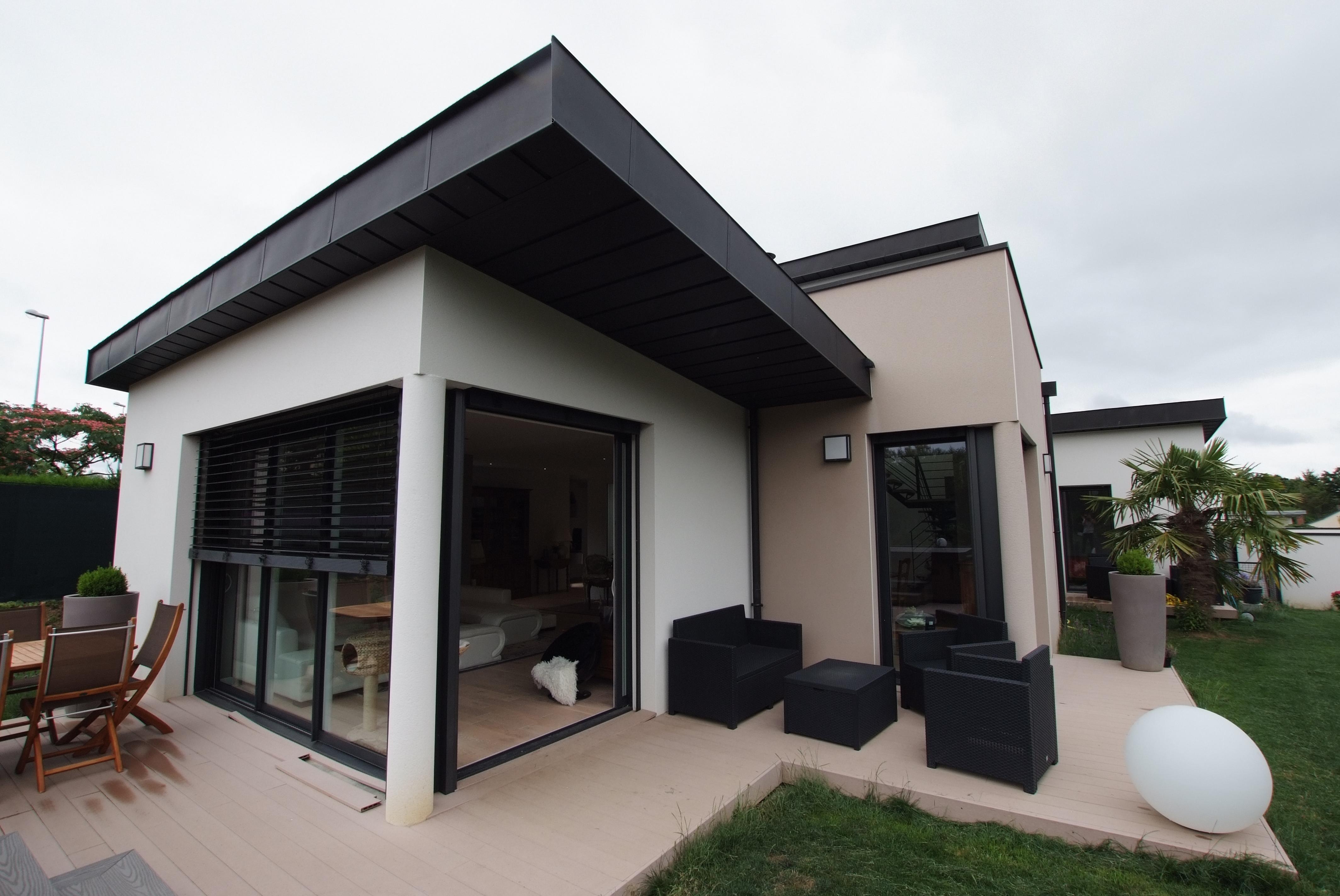 Maison Moderne Avec Patio Interieur maison avec patio intérieur - liffré   www.ami-construction.fr