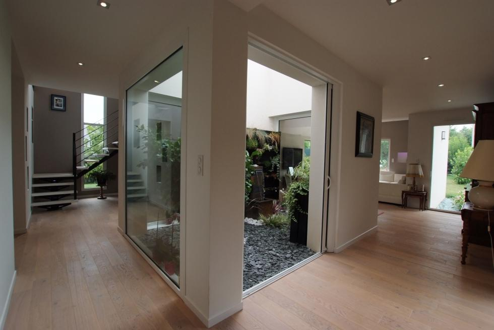 Maison avec patio intérieur - LIffré | www.ami-construction.fr