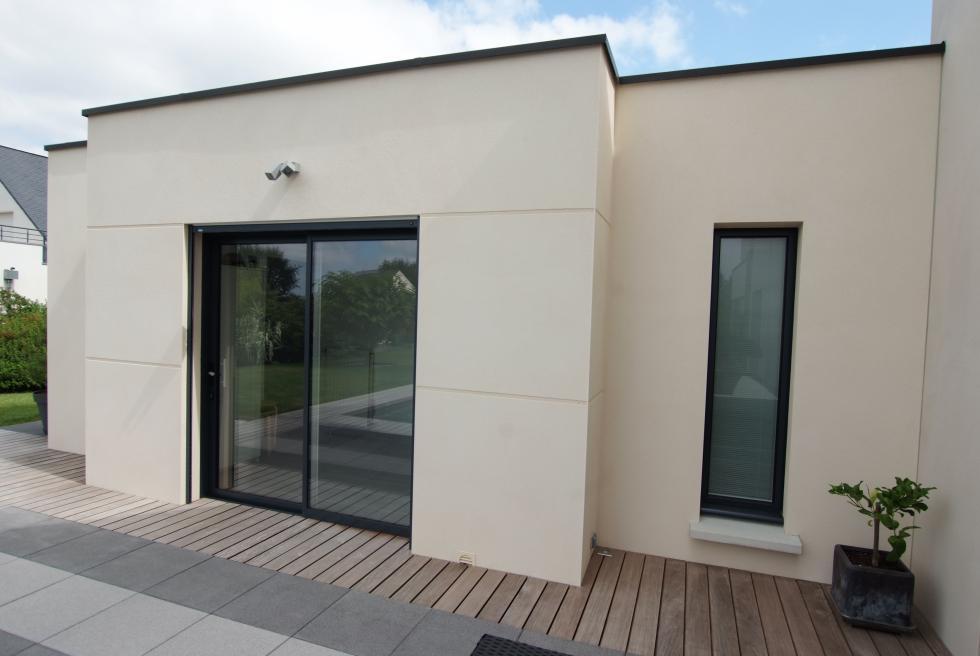 Relative Extension en toit plat - Bruz | www.ami-construction.fr GC37